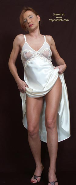Pic #3 - Susy Rocks My White Nightie