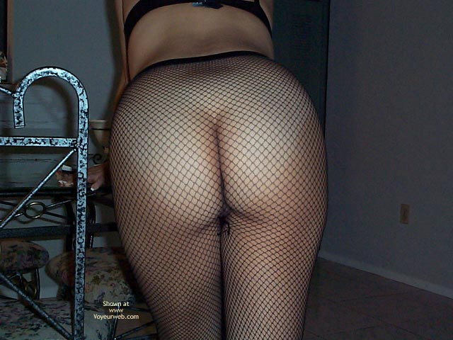 Pic #1 - Gorgeous Ass in Fishnets
