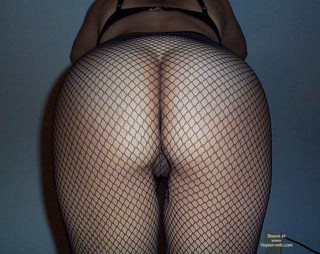 Pic #2 - Gorgeous Ass in Fishnets