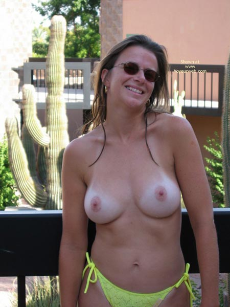Pic #3 - Tamara Loves To Show Off Her Tits - And What A Set She Has