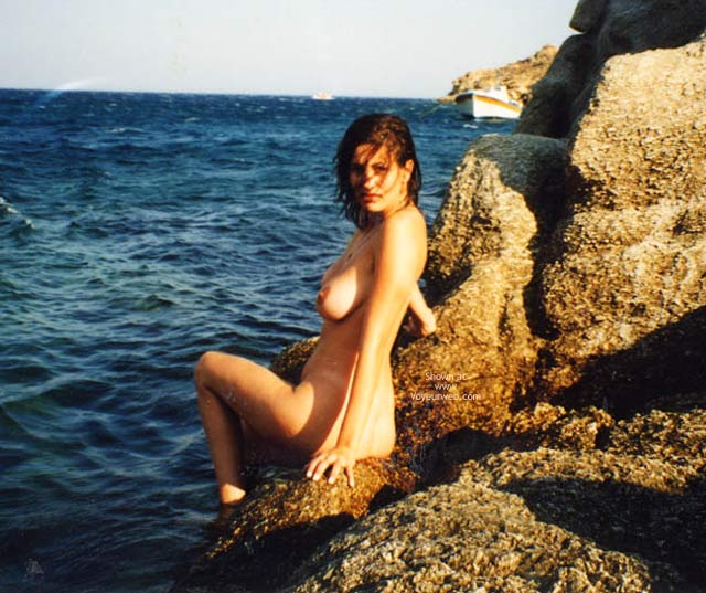 Pic #5 - Repost Of My Beautiful Wife In Greece