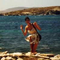 Repost Of My Beautiful Wife In Greece