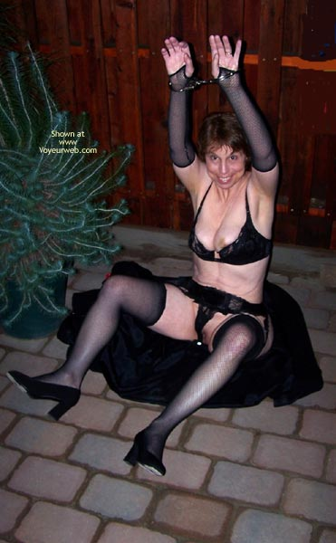Pic #8 - *Ol Outside In Lingerie And Handcuffs