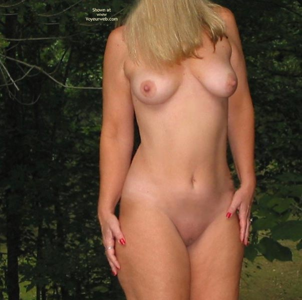 Pic #4 - Jenny in The Woods