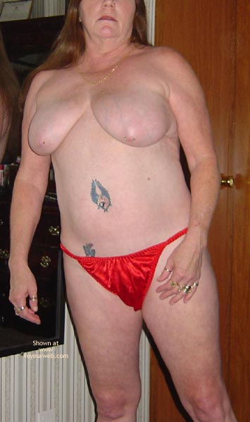 Pic #3 - Wife in Red