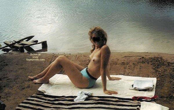 Pic #2 - Flirtatious Wife At The Lake