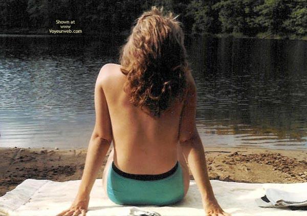 Pic #3 - Flirtatious Wife At The Lake