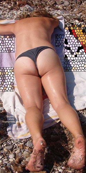 Pic #2 - My Shy Wife On Beach