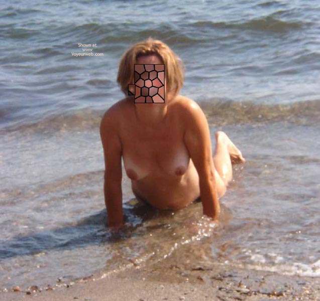 Pic #6 - My Shy Wife On Beach