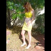 Redhead in Yellow