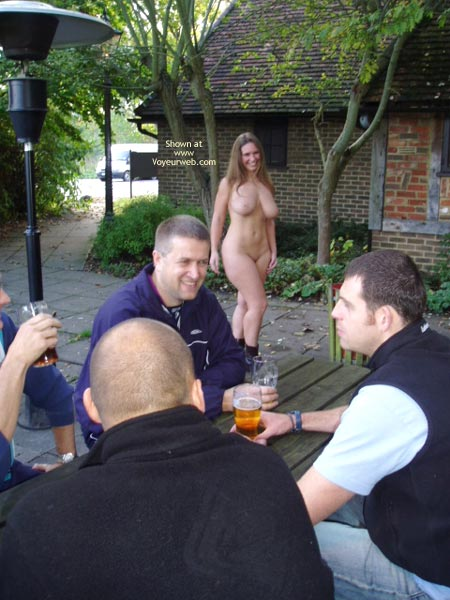 Pic #8 - *CO Busty Janey At The Pub!