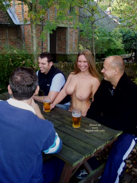 Pic #9 - *CO Busty Janey At The Pub!