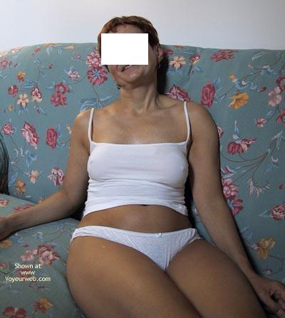 Pic #1 - White Cotton Panties