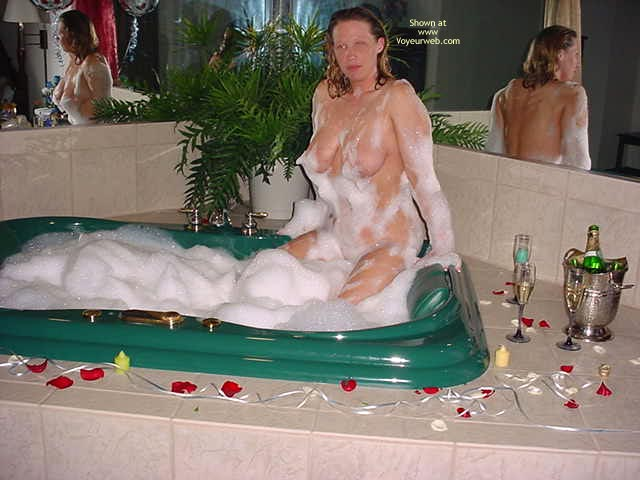 Pic #2 - Shy Cowgirl Enjoying Her Bubblebath
