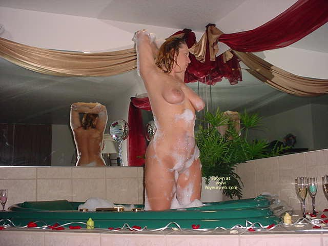 Pic #4 - Shy Cowgirl Enjoying Her Bubblebath