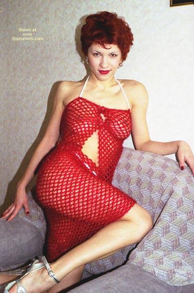 Pic #4 - Heled Red Dress Again