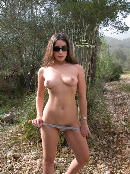 Pic #7 - The Sexy Ex Naked Outdoors