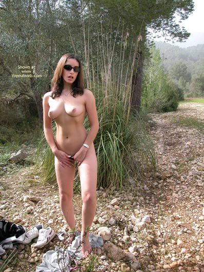 Pic #10 - The Sexy Ex Naked Outdoors
