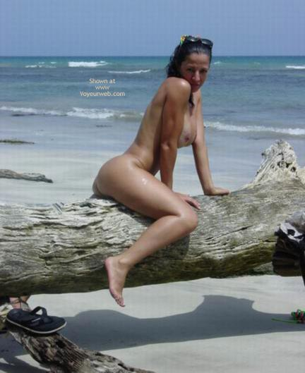 Pic #1 - Sunglasses On Head - Nude Outdoors , Sunglasses On Head, Nude Outdoors, Nude At The Beach, Riding Trunk
