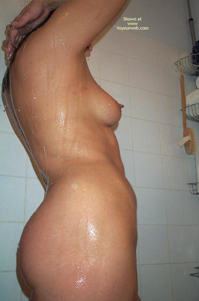 Pic #6 - Having A Shower