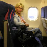 Wife Flashing Tits In Airplane - Erect Nipples, Flashing Tits, Flashing, Hard Nipple, Hot Wife
