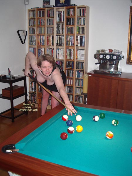 Pic #2 - Pinnokio Plays At Pooltable
