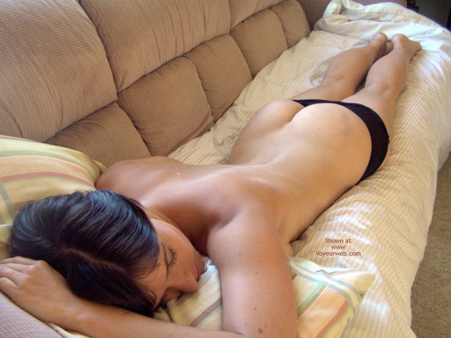 Pic #7 - Naked On The Couch