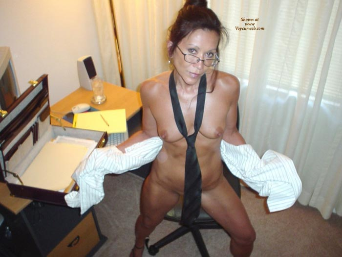 Pic #1 - Nude Office - Small Tits , Nude Office, Office Games, Small Tits, Wearing Glasses, Naughty Office Girl