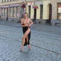 Wife Flashing Boobs - Flashing, Heels, Long Legs, Nude Outdoors, Tan Lines, Topless, Naked Girl, Nude Amateur, Nude Wife, Sexy Legs