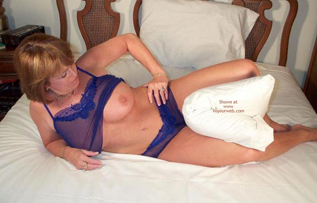 Pic #3 - Claire Takes Off Her Nightie
