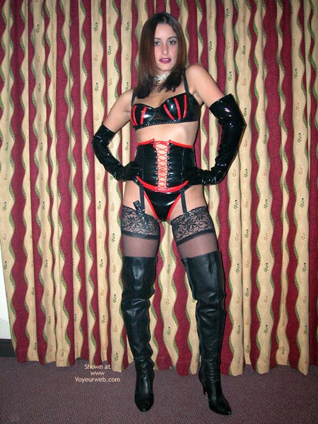 Pic #1 - The Sexy Ex In Pvc, Leather And Lace