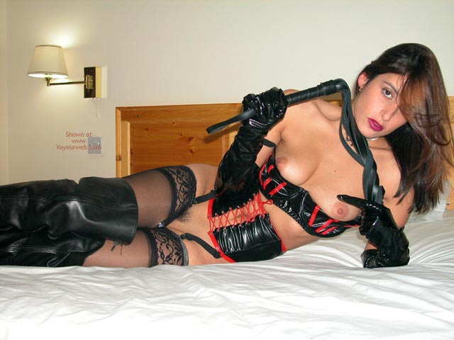 Pic #7 - The Sexy Ex In Pvc, Leather And Lace