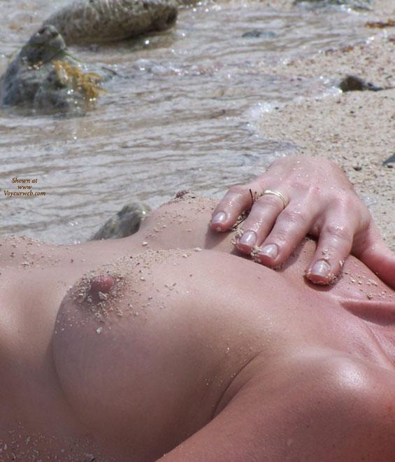 Pic #1 - Nipple Shot - Hard Nipple, Topless Beach , Nipple Shot, Topless Beach, Boob Close Up, Tits On The Beach, Beach Boobs, Hard Nipples, Sandy Boobs