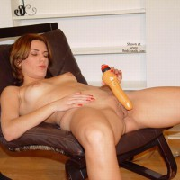 Megan With Dildo In Her Holes