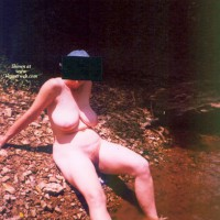Naked In The Creek
