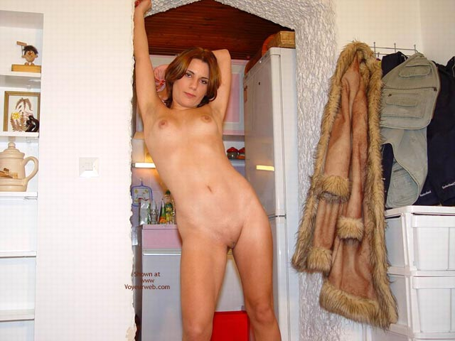 Pic #3 - Sexy Megan Flashes Her Naked Body Again