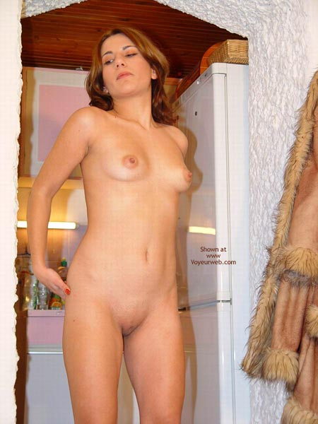Pic #6 - Sexy Megan Flashes Her Naked Body Again