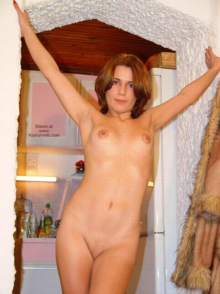 Pic #8 - Sexy Megan Flashes Her Naked Body Again