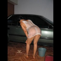 Wife Wash The Car