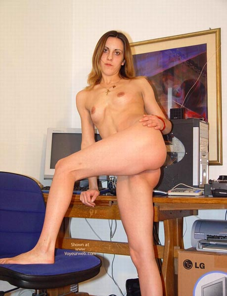 Pic #2 - Me Naked In My Boyfriend'S Office