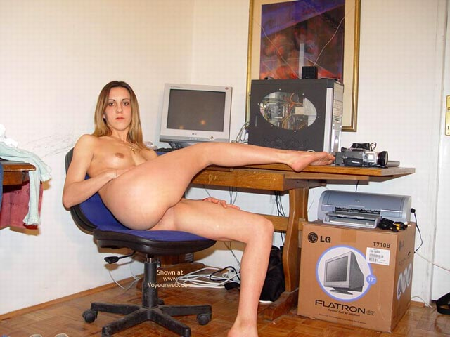Pic #7 - Me Naked In My Boyfriend'S Office