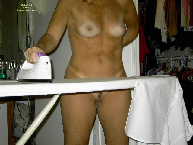 Pic #1 - Naked While Ironing