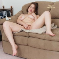 Cori On Couch