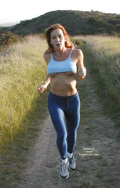 Pic #1 - Kim4kate Blue Spandex