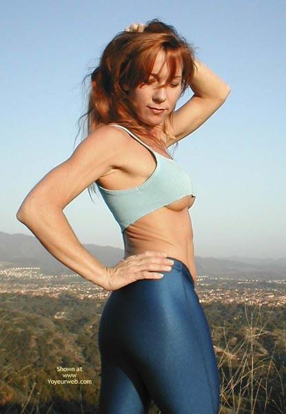 Pic #2 - Kim4kate Blue Spandex