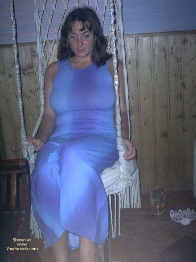 Pic #3 - Big Natural Boobs In A Tight Dress