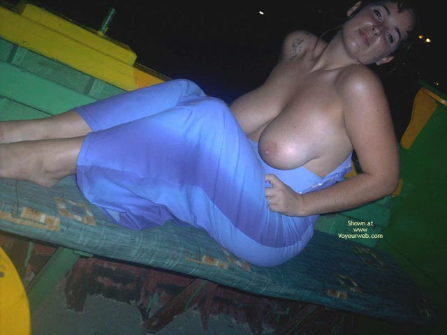 Pic #8 - Big Natural Boobs In A Tight Dress