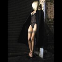 Black Lingerie - Heels, Stockings, Sexy Lingerie