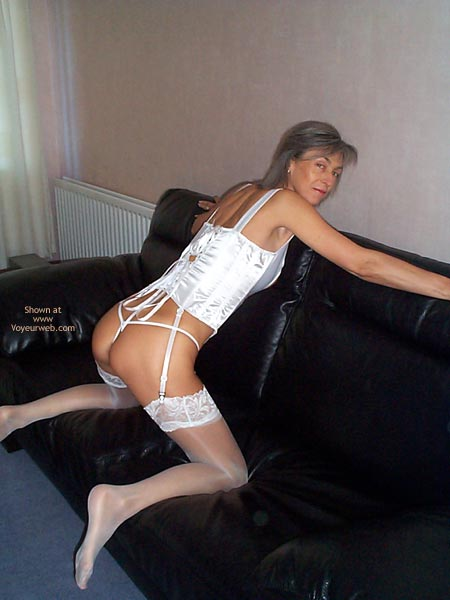 Pic #3 - Gayle Tries White Lingerie This Time
