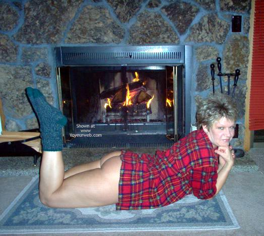 Pic #6 - Angelique Beside The Fire